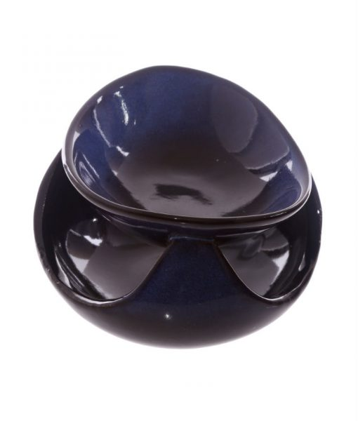 glazed-abstract-ceramic-oil-burner-midnight-blue