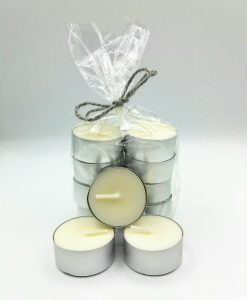 Fragrance free soy wax tea lights - Shelley Louise Design