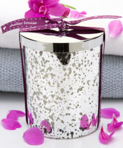 Fresh Linen Lrg Silver Candle