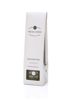 FRESH LINEN SCENTED REED DIFFUSER