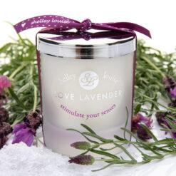 Love Lavender Med Candle