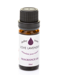 Love Lavender Oil Bottle
