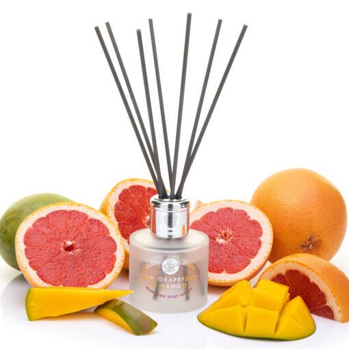 Pink Grapefruit & Mango Reed Diffuser