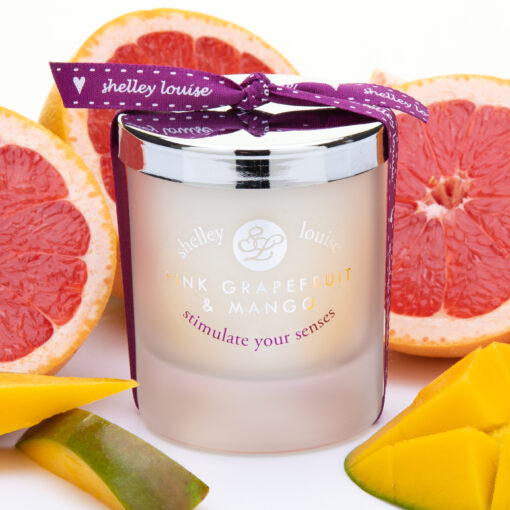 Pink Grapfruit & Mango Medium Hand Poured Candle