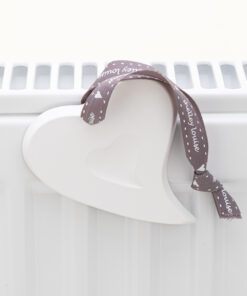 Scented Heart On Radiator
