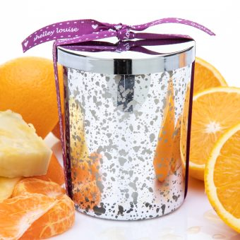 Seville Lrg Glam Silver Candle
