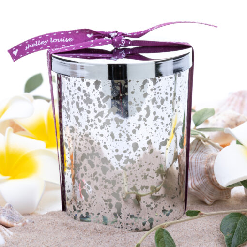 Sicilian Breeze Lrg Silver Glam Candle