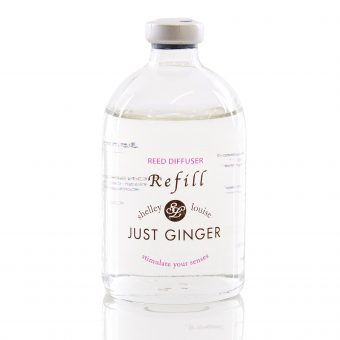 JUST GINGER SHELLEY LOUISE REED DIFFUSER REFILLS
