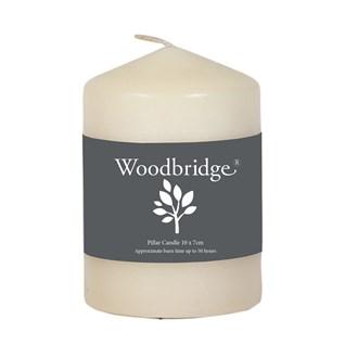 Woodbridge Ivory Pillar Candle 10 x 7cm