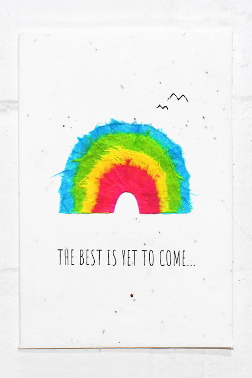 The Best Is Yet to Come - Eco Card
