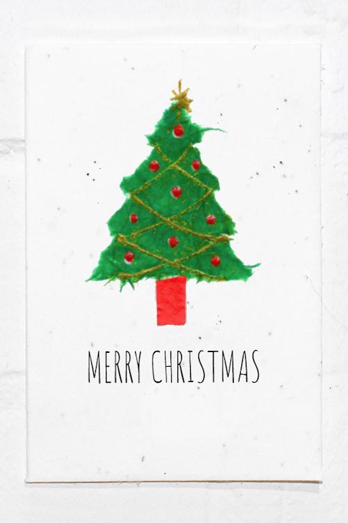 Christmas Tree Eco Card