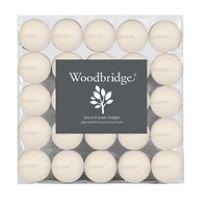 Woodbridge Long Burn Ivory Tea Lights