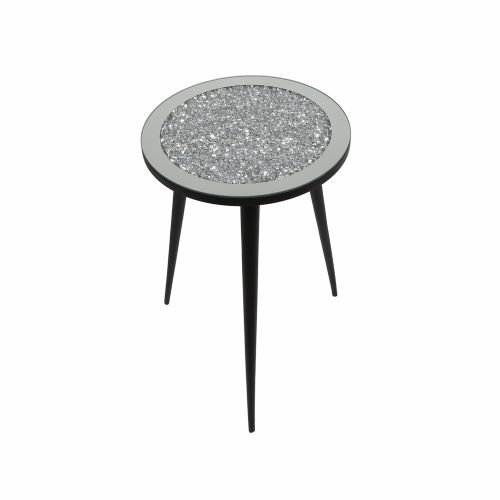 Small Jewelled Mirror Table
