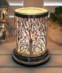 SILHOUETTE FOREST ELECTRIC WAX MELT BURNER