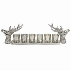 Reindeer Stag 6 Tealight Holder 56cm